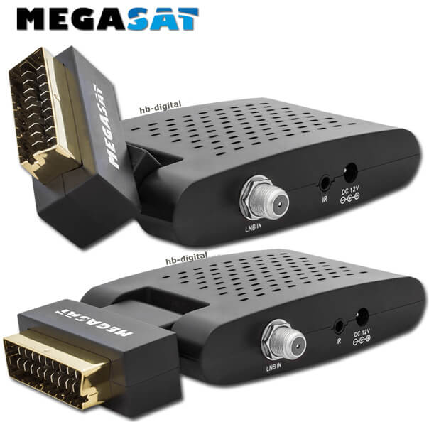 mobil sat anlage camping koffer megasat 3610 scart sd receiver kabel single lnb. Black Bedroom Furniture Sets. Home Design Ideas