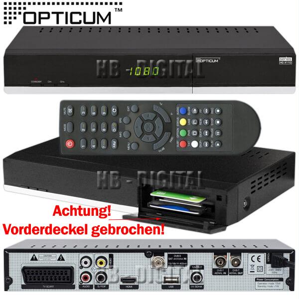 full hd tv sat dvb s2 dvb t combo receiver opticum x110ts hdmi usb ci cx conax ebay. Black Bedroom Furniture Sets. Home Design Ideas