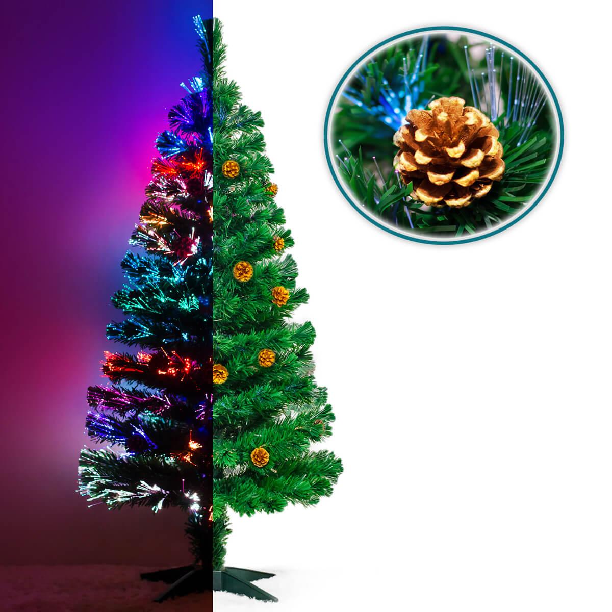 weihnachtsbaum christbaum 1 5 m tannenbaum led beleucht. Black Bedroom Furniture Sets. Home Design Ideas